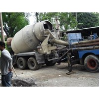 Sewa concrete pump atau rental concrete pump