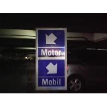 Jasa Pembuatan tanda parkir Mobil Motor
