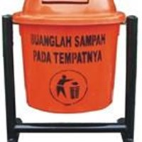 Jual Tempat Sampah Fiber Single