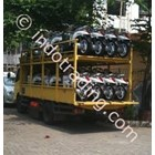 Motorcycle Delivery Services Throughout Indonesia