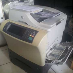 printer Hp laserjet 4345MFP Bisa print copy scan fax F4