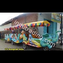 Kereta Mini Sepeda Motor Loko Gajah