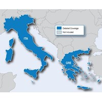 Jual   Peta (Map) navigasi Italy & Greece (Yunani) for GPS Garmin nuvi update 2015