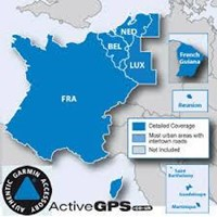 Jual  Peta (Maps) City Navigator France (French) & Benelux NT.2016 for GPS Garmin nuvi updater 2016