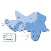 Jual Update Peta (Map) City Navigator East & West Africa NT.2016.20 for Garmin Nuvi