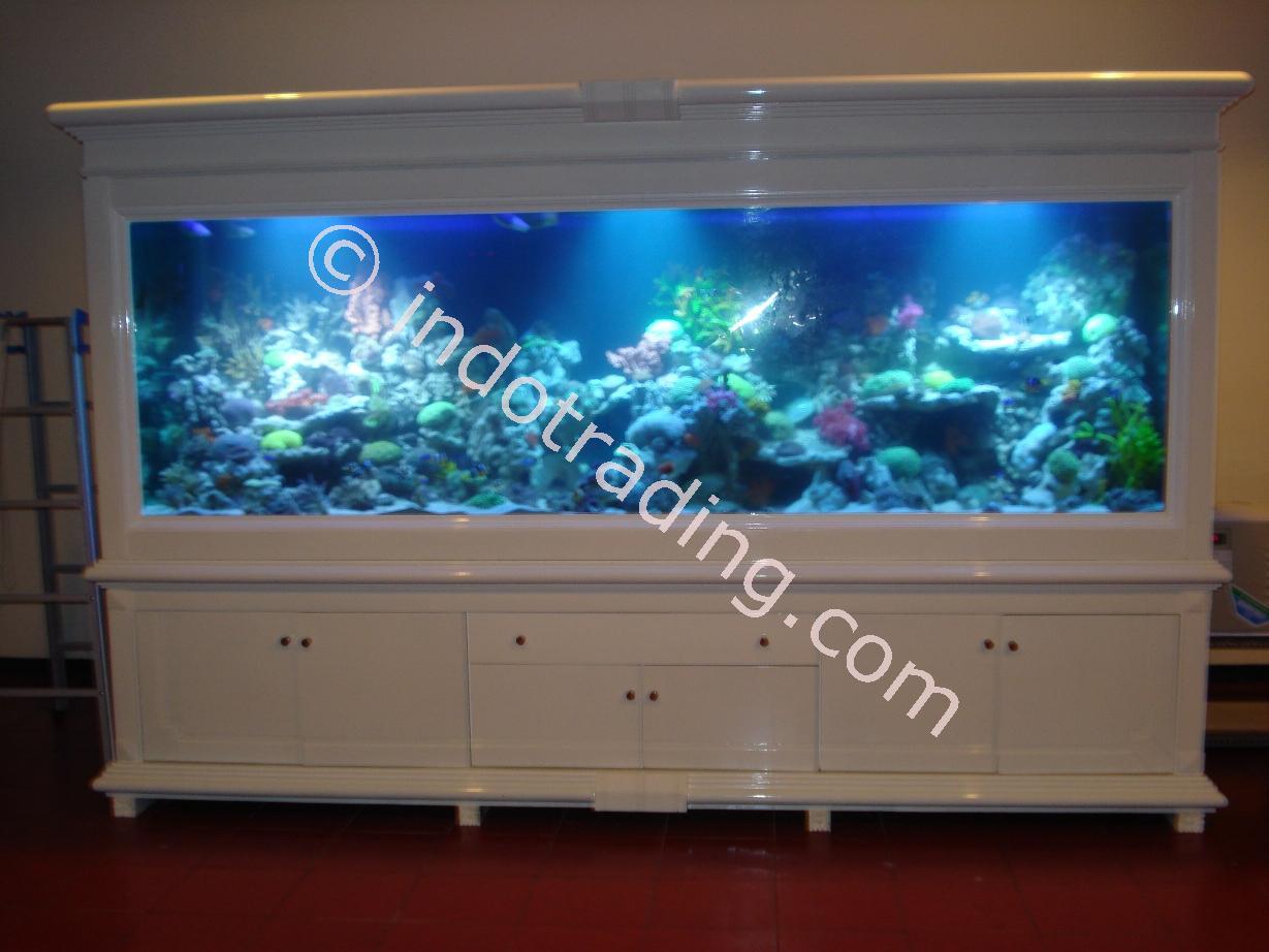 Jual aquarium air laut 3 meter harga murah surabaya oleh for Aquarium katalog