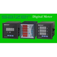 Digital Panel Meter Salzer Digital Voltmeter A Digital Frequency Meter Digital Power Factor Meter Digital Power Meter Digital Multimeter