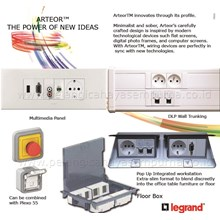 Legrand Arteor Integrated Multi Outlet