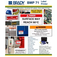 Jual Brady Label Printer BMP71 Mesin Label