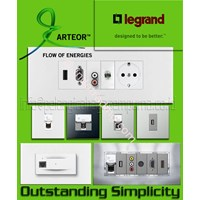 Jual Multimedia Panel  Legrand HDMI VGA AUDIO Telephone Audio