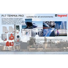 Plug Socket Industri Tempra P17 Combined Unit Legrand Stop Kontak Industri