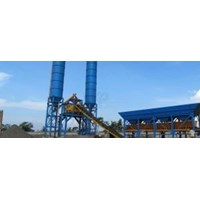 Jual Concrete Batching Plant Wet Mix System