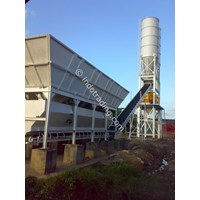 Jual Batching Plant Wet Mix .
