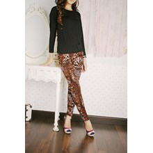 Legging kantong Xl Macan Brown