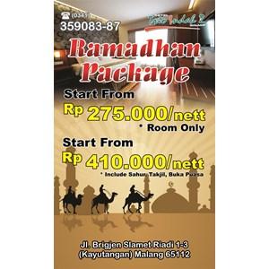 Ramadhan Packaging 2015 By Hotel Trio Indah 2 Malang