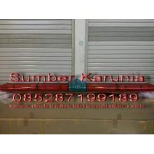 Lightbar Rotator 24V Merah-Merah Led 200cm