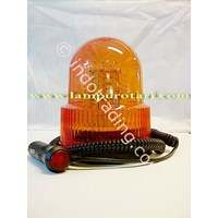 Sell Rotary Led Lamp 4 inch Yellow
