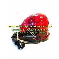 Lampu Rotari Oval Merah