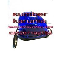 Jual Lampu Rotari 4 inch Magnet Biru