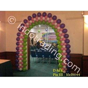 Dekorasi Balon Gate 3 By Sanggar Badut Idola