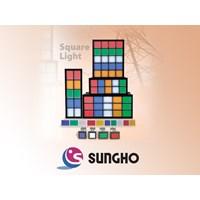 Jual SUNG HO Square Pilot Lamp