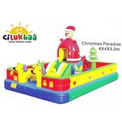 RumahBalon BalonLoncat istanaBalon  CHRISTMAS PAR