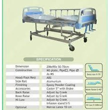 Tempat Tidur Pasien - Hospital bed 3 Crank