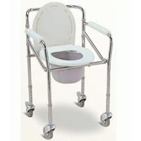 Kursi Toilet Beroda  Commode FS 696
