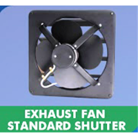 Exhaust fan Standard Shutter