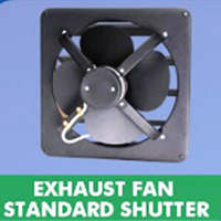 Standard Exhaust Fan Shutter