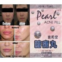 Jual Pearl Acne Pills Herbal Obat Penghilang Jerawat Alami Tips Cara Kulit Bersih Putih Sehat