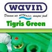 Pipa PP-R Wavin Tigris Green