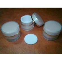 Acrilic Cream Pot 5 G Pink