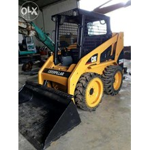 Mini Skid Steer Loader Bekas BOBCAT CAT CASE TOYOTA TAKEUCHI Kapasitas 0.8 M3 Build Up Jepang