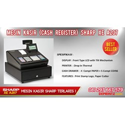 MESIN KASIR SHARP XE A207