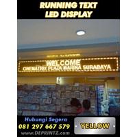 Running Text Warna Kuning