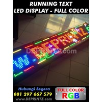 Running Text Full Color