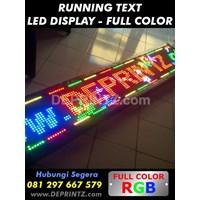 Jual  Running Text Full Color