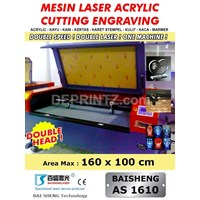 Sell Mesin LASER CUTTING Acrylic Double Head AS 1610