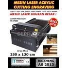 Jual Mesin LASER CUTTING Acrylic AS 2513