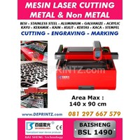 Jual Mesin LASER CUTTING METAL BSL 1490