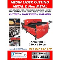 Jual Mesin LASER CUTTING METAL BSL 2513