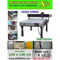 Mesin CNC ROUTER X12