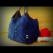 Online home made bag knit bag