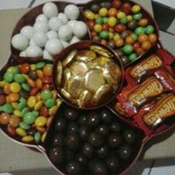 Coklat Delfi Mix Toples Bunga