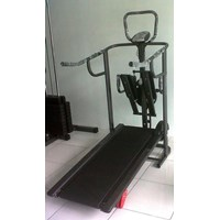 Jual Treadmill Manual 4 Fungsi Anti Gores