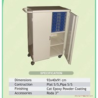 Sell Medicine Trolley 24 Drawers