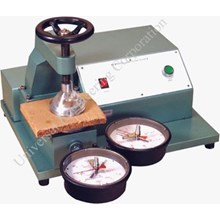 Uec– 1010 Bii Bursting Strength Tester For Paper & Paper Board  (Hand Wheel Type)