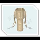 Brass Camlock Coupling Type - C.