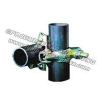 FIXED CLAMP 5 mm (Heavy Duty) Bs 1139 Sz 48.6 mm x 48.6 mm.